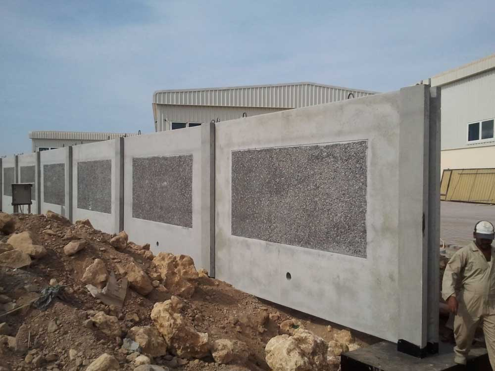 Simple Boundary Wall Design : Boundary walls ophiolite oman